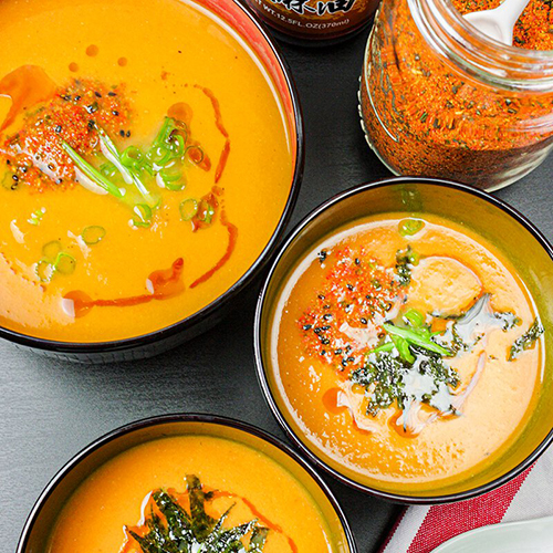 Carrot Ginger Miso Soup